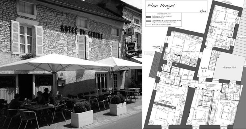 Facade-et-plan-projet---Hotel